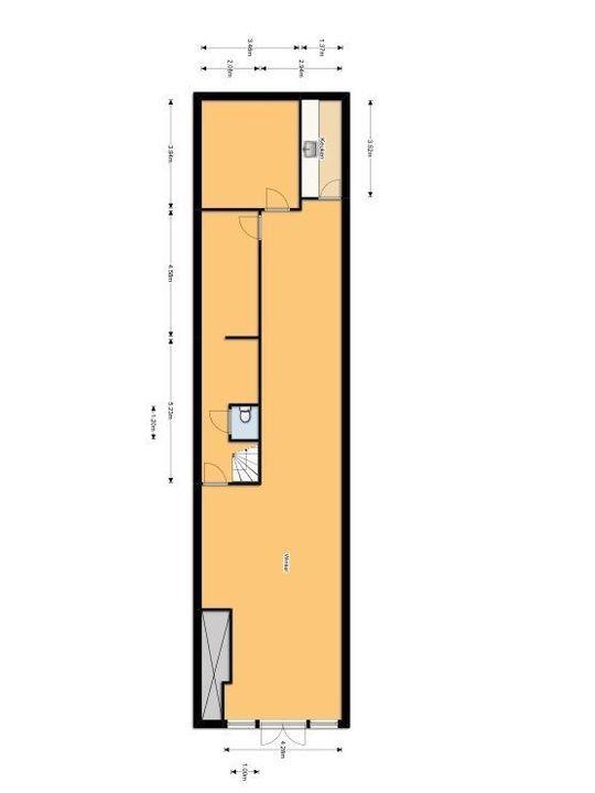 Hippolytusbuurt 37, Delft plattegrond-0