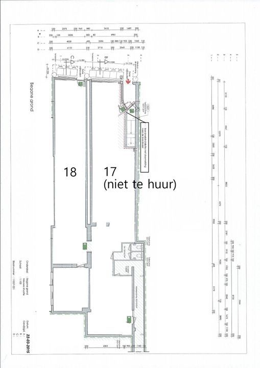 Voldersgracht 18, Delft plattegrond-0