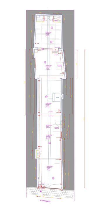 Voldersgracht 18, Delft plattegrond-1