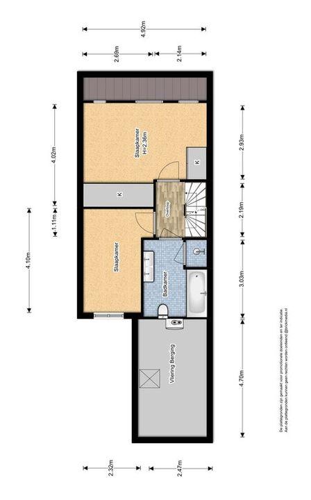 Boomkleverstraat 26, Delft plattegrond-2