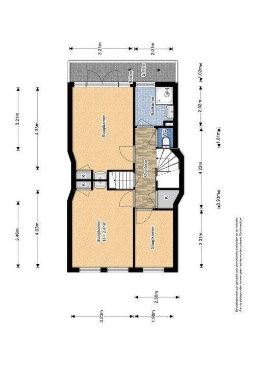 Hof van Delftlaan 110, Delft plattegrond-2