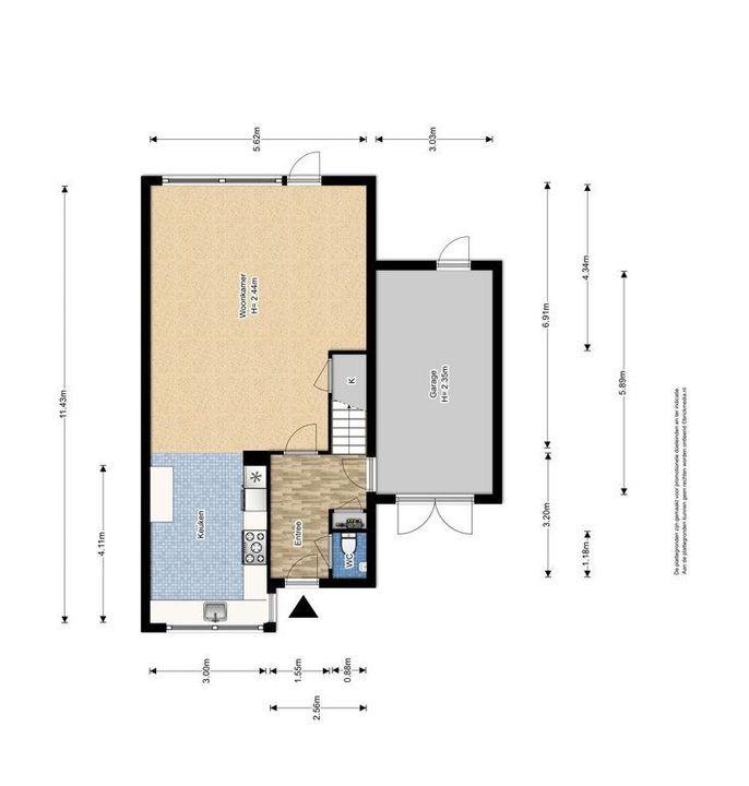 Letterzetterhof 21, Delfgauw plattegrond-0