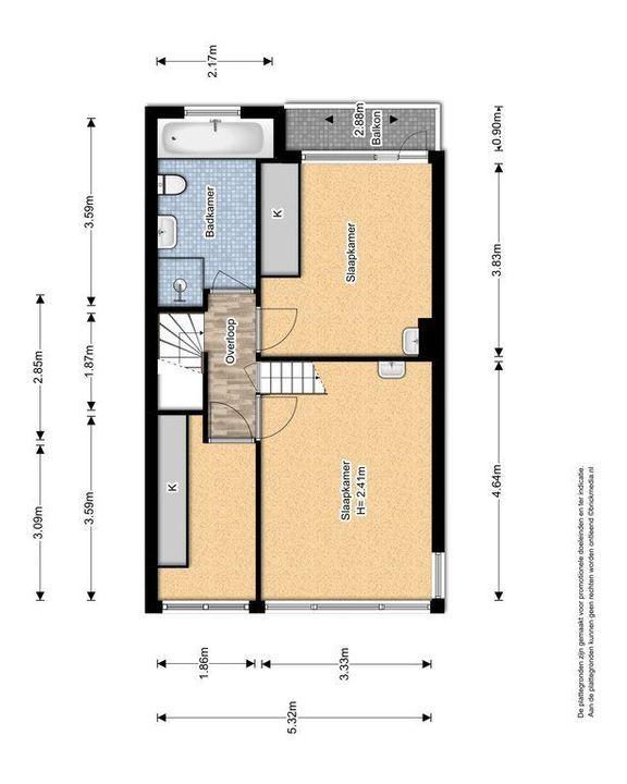Van Heemstrastraat 19, Delft plattegrond-1