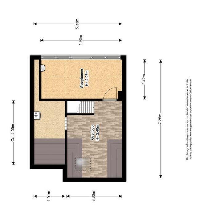 Van Heemstrastraat 19, Delft plattegrond-2