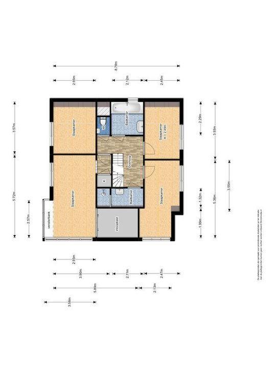 Rijsbes 101, Den Haag plattegrond-2