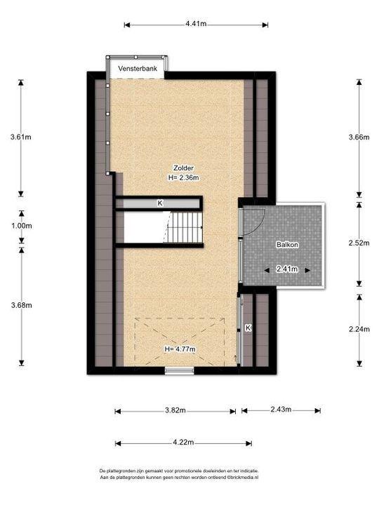 Rijsbes 101, Den Haag plattegrond-3