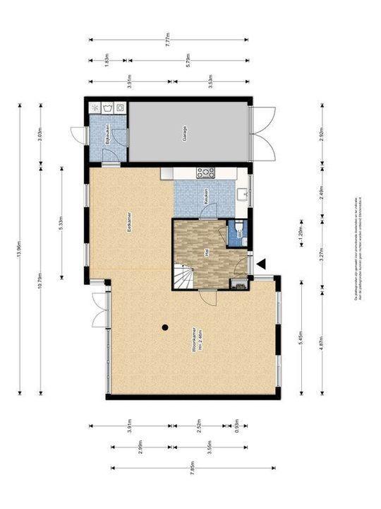 Rijsbes 101, Den Haag plattegrond-1