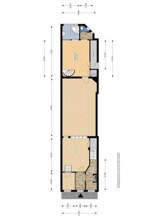 Oude Delft 60, Delft plattegrond-0