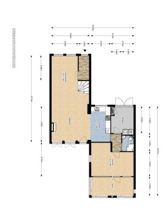 Laan van Overvest 11, Delft plattegrond-0