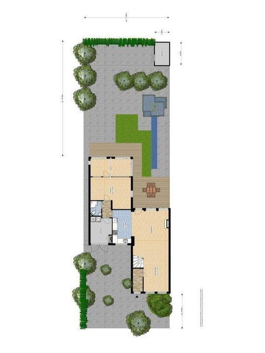 Laan van Overvest 11, Delft plattegrond-2