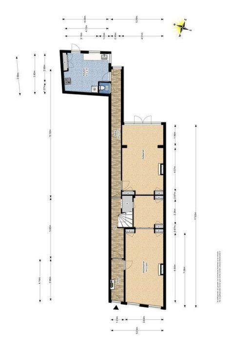 Noordeinde 16, Delft plattegrond-0