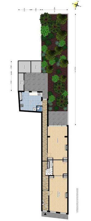 Noordeinde 16, Delft plattegrond-3