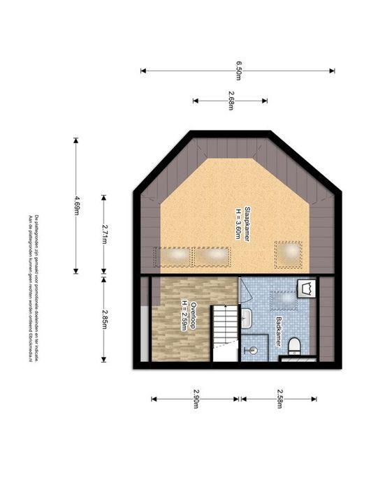 Simonsstraat 103 E, Delft plattegrond-1