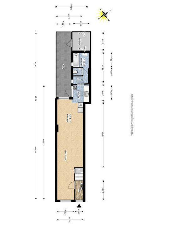 Buitenwatersloot 139, Delft plattegrond-0