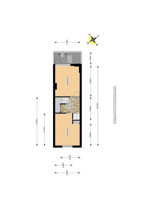Buitenwatersloot 139, Delft plattegrond-1