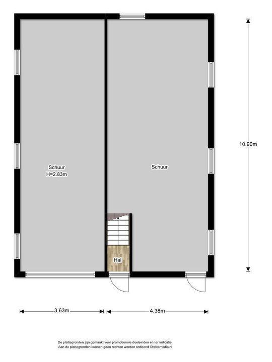 Haantje 11, Rijswijk plattegrond-6