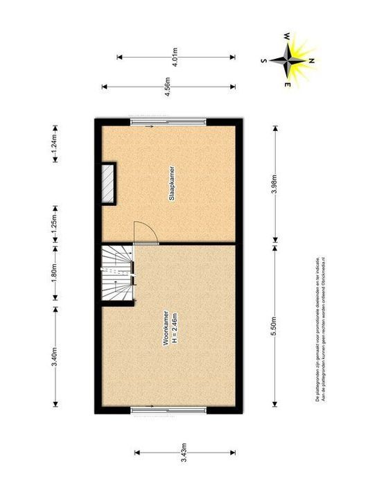 Zuidpoldersingel 57, Delfgauw plattegrond-1