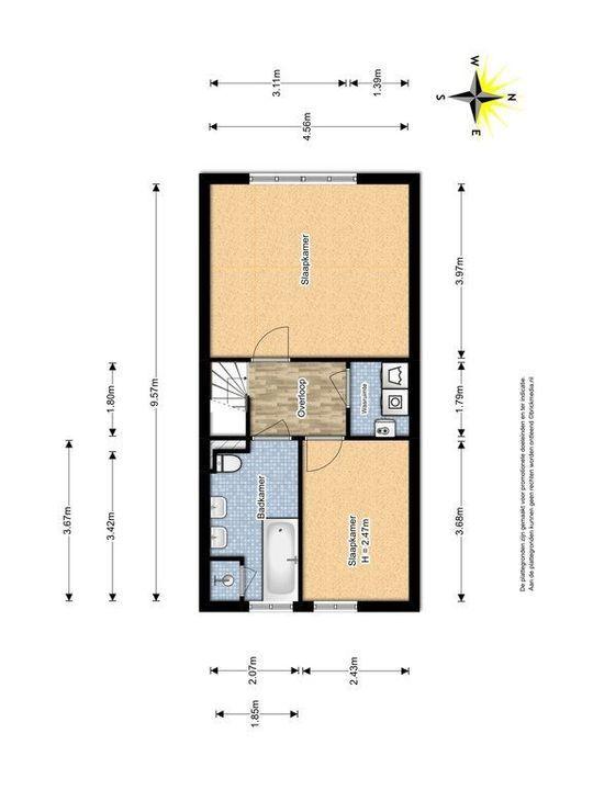 Zuidpoldersingel 57, Delfgauw plattegrond-2