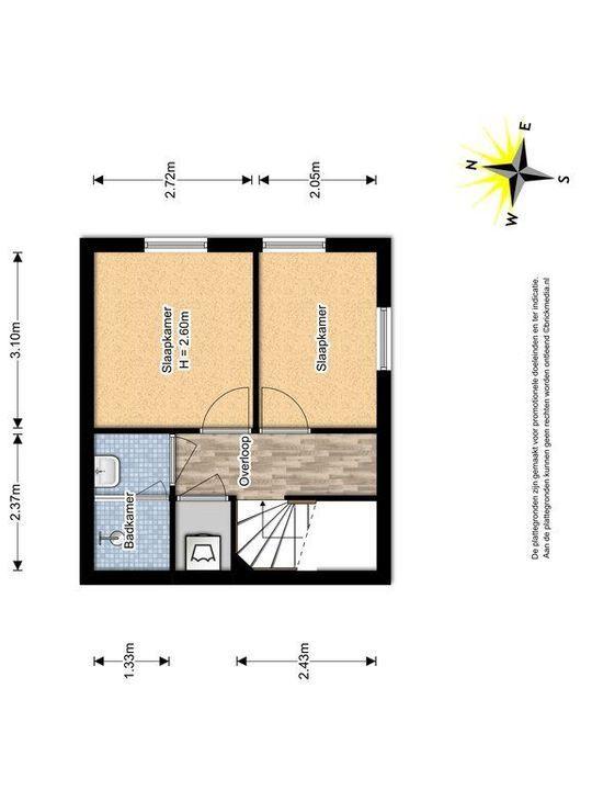 Glenn Millerstraat 46, Delft plattegrond-1