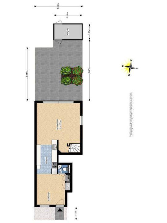 Glenn Millerstraat 46, Delft plattegrond-2