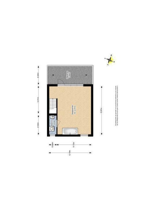 Van Barenstraat 16, Delft plattegrond-2