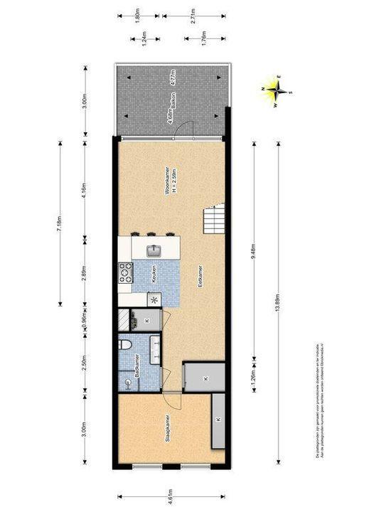 Montgomerylaan 44, Delft plattegrond-0