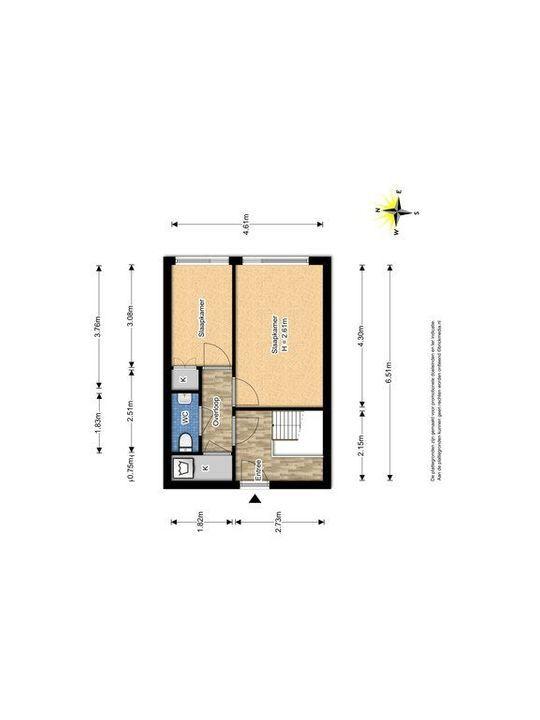 Montgomerylaan 44, Delft plattegrond-1