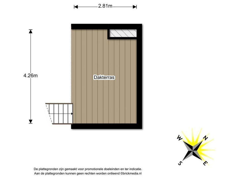 Noordeinde 18, Delft plattegrond-3