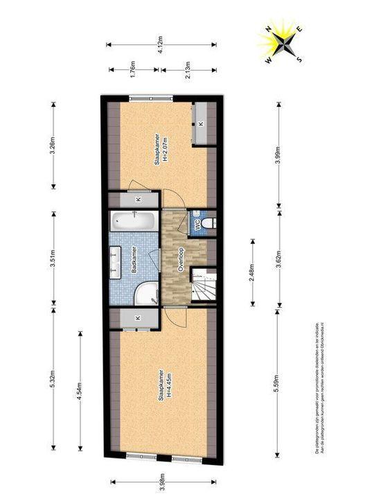 Noordeinde 18, Delft plattegrond-4