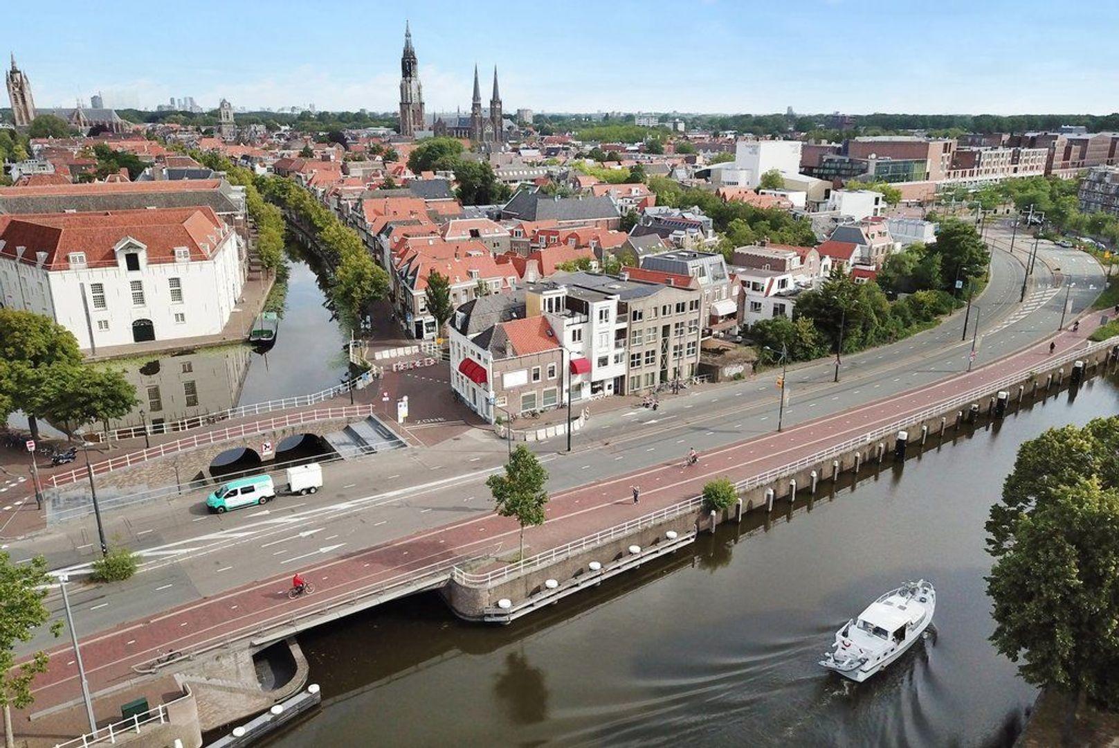 Achterom 1 3 en 5, Delft foto-5