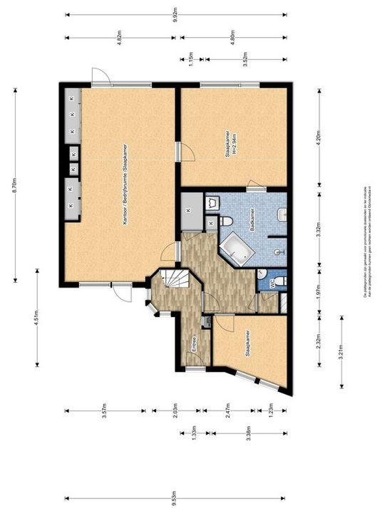 Lagosweg 29 31, Delft plattegrond-1