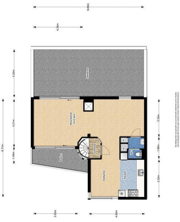 Lagosweg 29 31, Delft plattegrond-2
