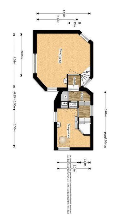 Laan van Overvest 24, Delft plattegrond-2