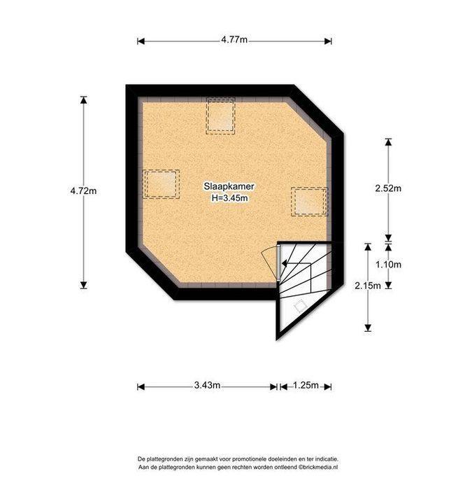 Laan van Overvest 24, Delft plattegrond-3