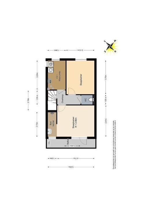 Raam 77, Delft plattegrond-2