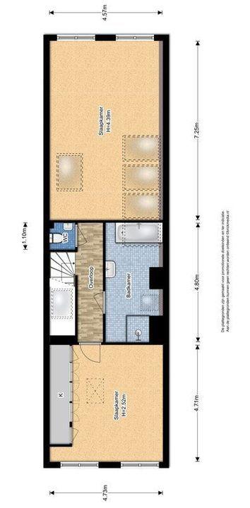 Koornmarkt 68 A, Delft plattegrond-2