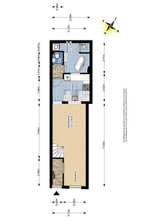 Rietveld 171, Delft plattegrond-0