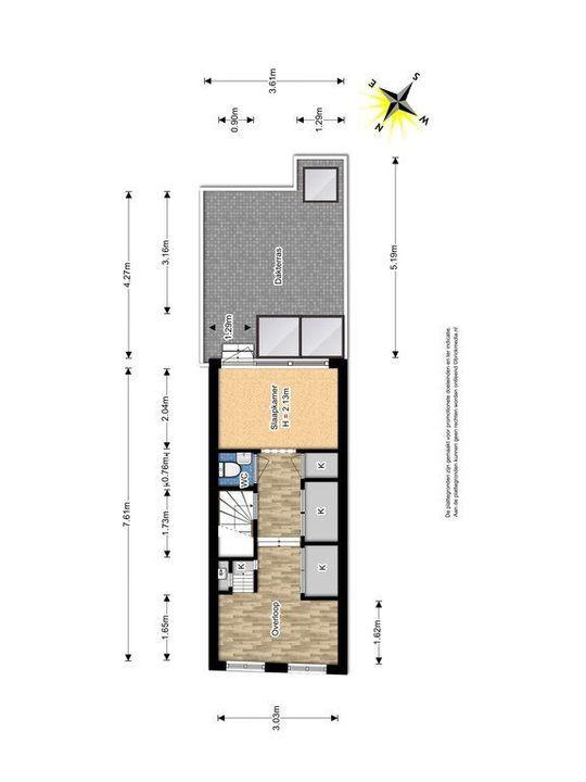 Rietveld 171, Delft plattegrond-1