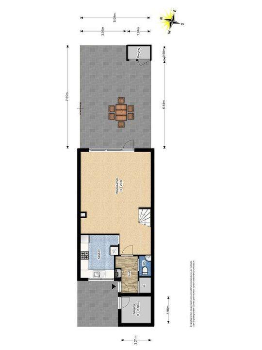 Talinghof 2, Delft plattegrond-3