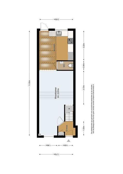 Koepoortstraat 13, Delft plattegrond-0