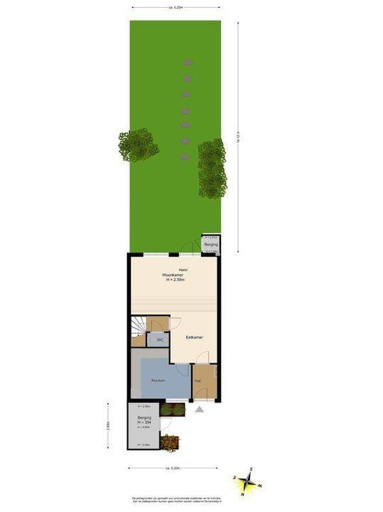 Cubalaan 46, Delft plattegrond-3