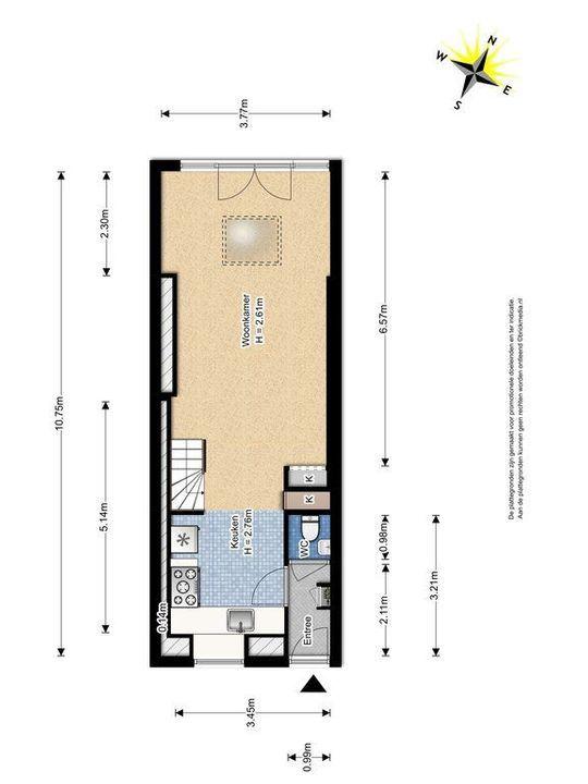 Harmenkokslaan 64, Delft plattegrond-0