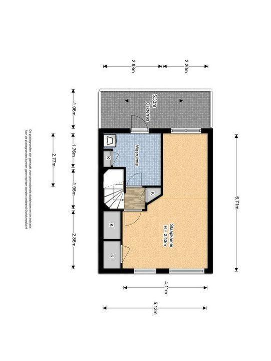 Straat van Ormoes 6, Delft plattegrond-2