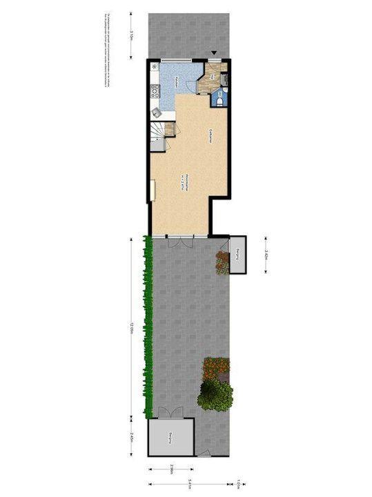 Straat van Ormoes 6, Delft plattegrond-3