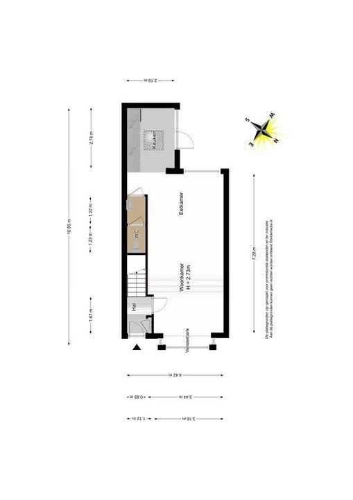 Ambonstraat 15, Delft plattegrond-0