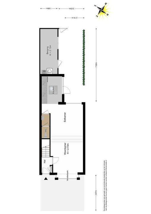 Ambonstraat 15, Delft plattegrond-3