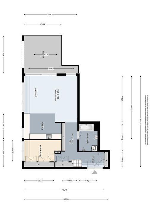 Nieuwelaan 140, Delft plattegrond-0