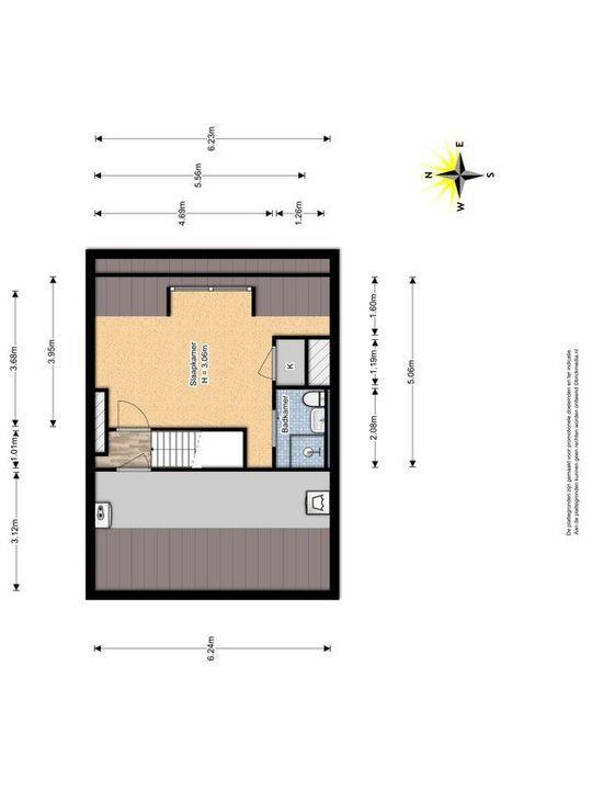 Westplantsoen 108, Delft plattegrond-3