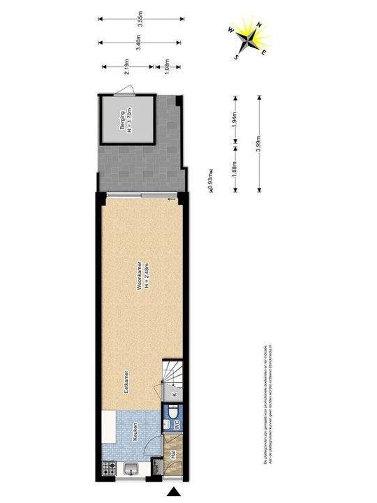 Geerweg 117, Delft plattegrond-2