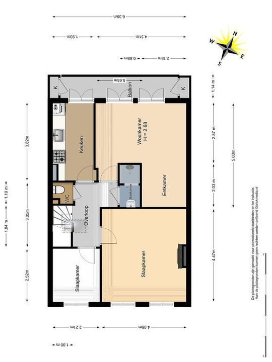 Schimmelpenninckstraat 12, Delft plattegrond-0